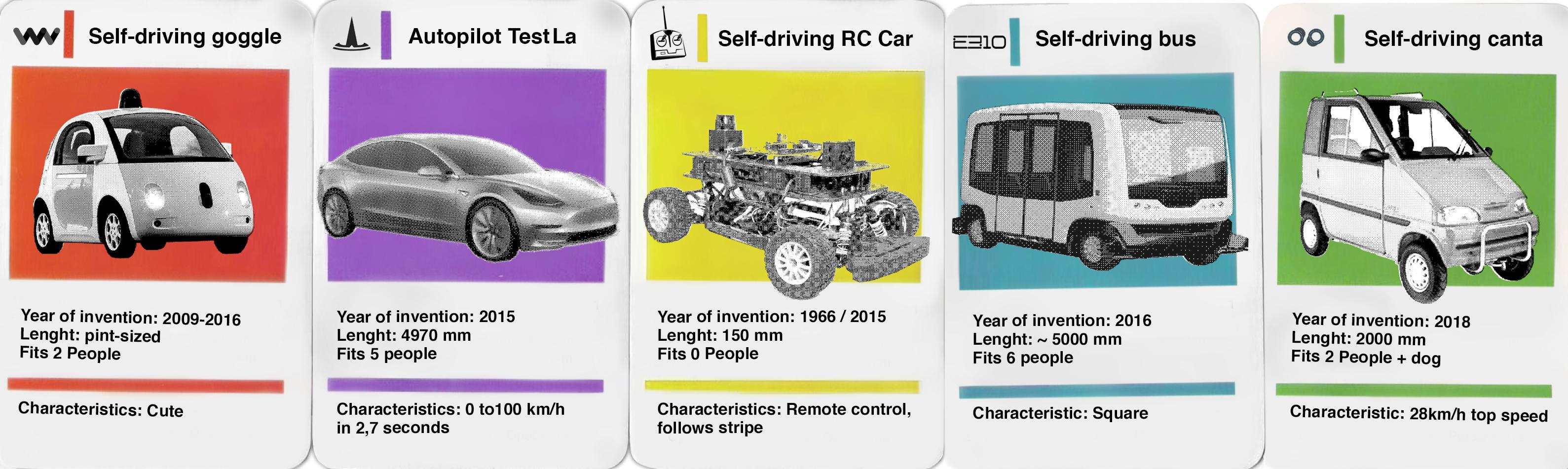 self driving cartett