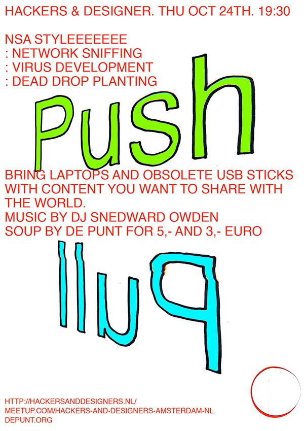 Push-Pull-poster