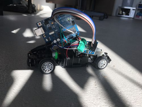 self driving toycar